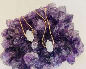 Moonstone Necklace, Fertility Necklace, Moonstone Choker, Pregnancy Necklace, Divine Feminine Necklace