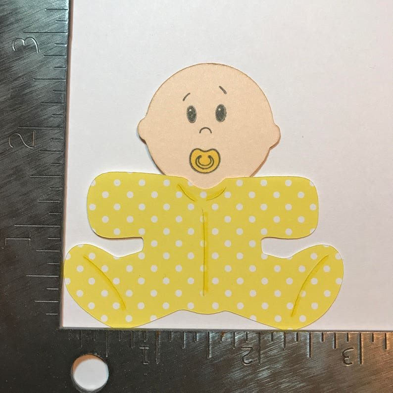 Baby Die Cut  Yellow image 0