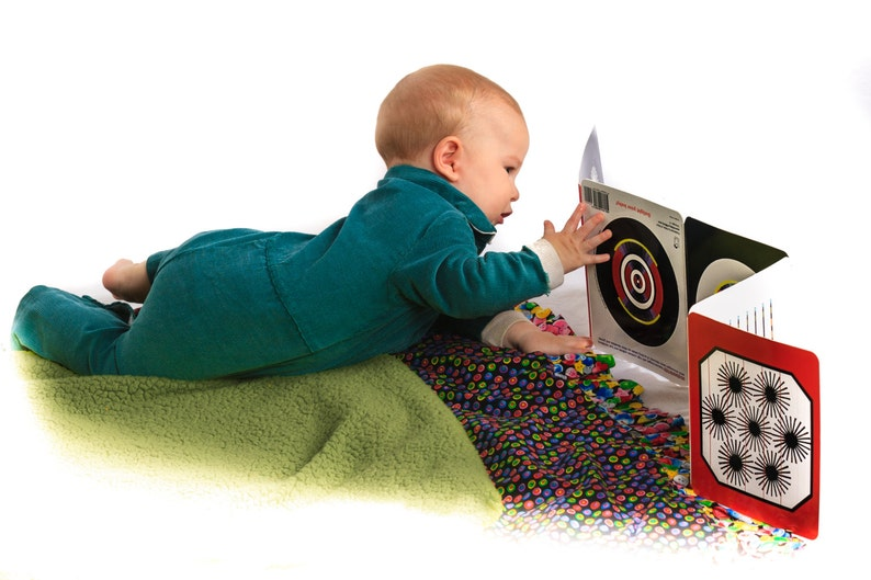 Eye Games for Baby  Baby's first crib book Plus free image 0