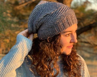 Tide and Pebble Hat Pattern