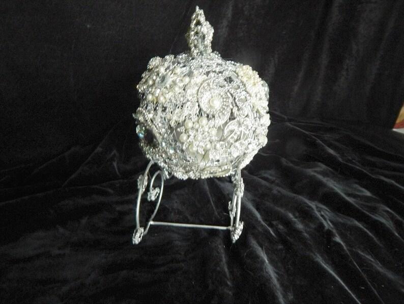 The original Princess ring bearer carriage wedding cake topper centerpiece  Bridal Quinceanera birthday sweet 16 shower