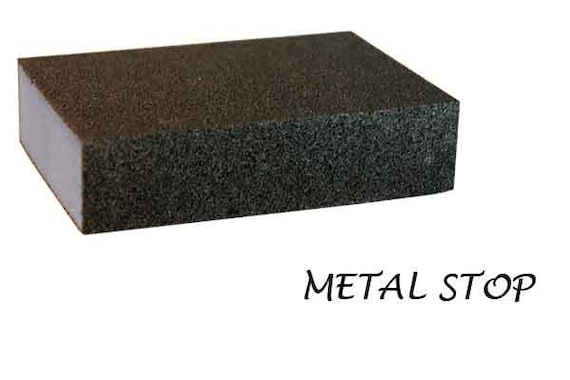 Fine Grit Large Sanding Block For Metal Finishing And Surface Etsy