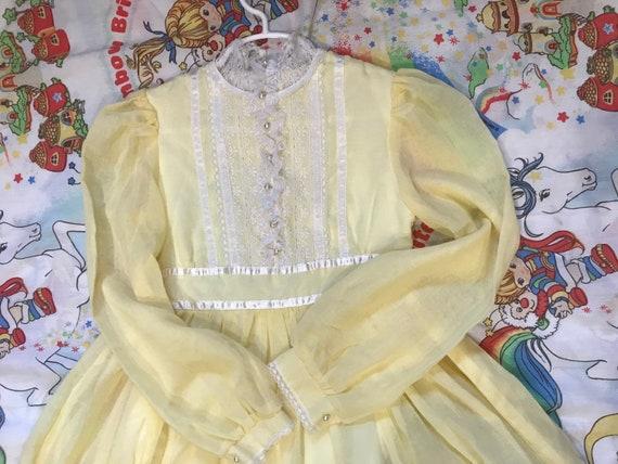 Vintage Gunne Sax Jeunes Filles Dress - image 1