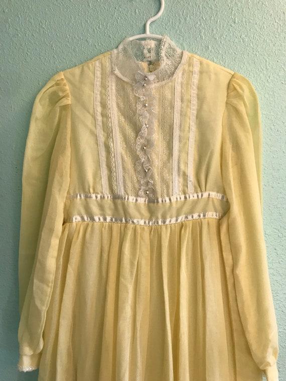 Vintage Gunne Sax Jeunes Filles Dress - image 6