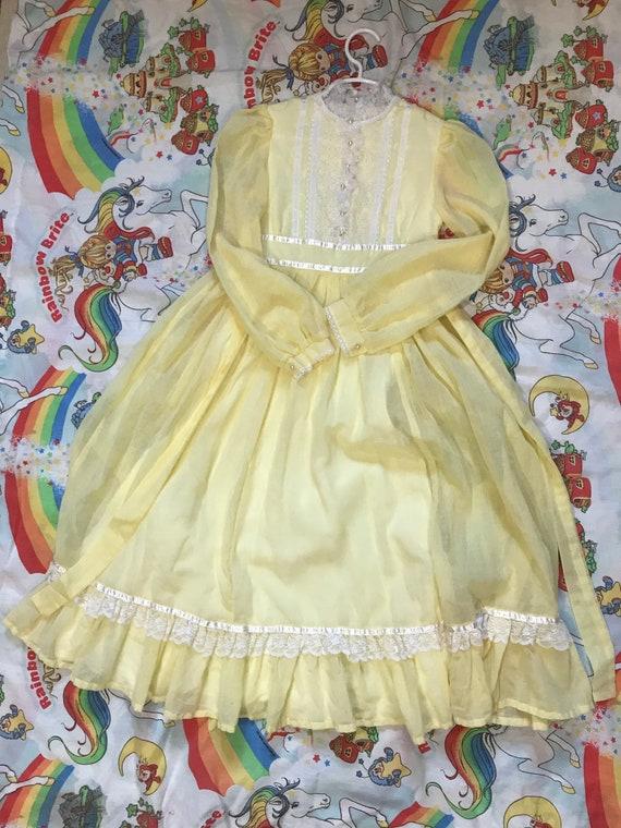 Vintage Gunne Sax Jeunes Filles Dress - image 3