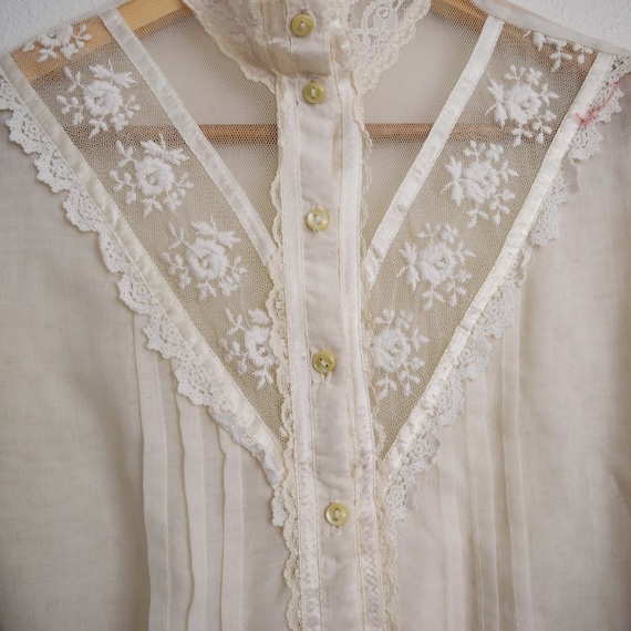 Jessica's Gunnies Victorian Style Blouse - image 2