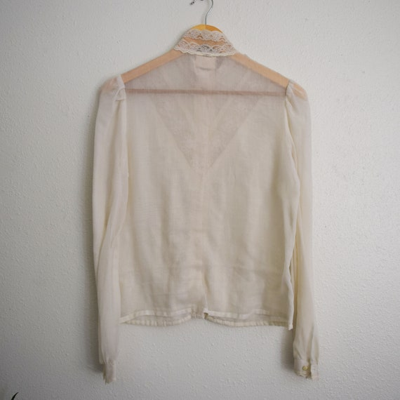 Jessica's Gunnies Victorian Style Blouse - image 5