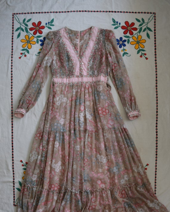 Vintage Candi Jones Maxi Dress