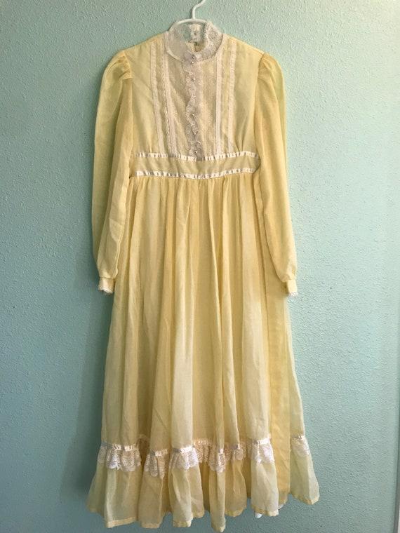 Vintage Gunne Sax Jeunes Filles Dress - image 4