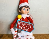 Home Sweet Home - North Pole Sign Ornament for Elf or Doll Kit