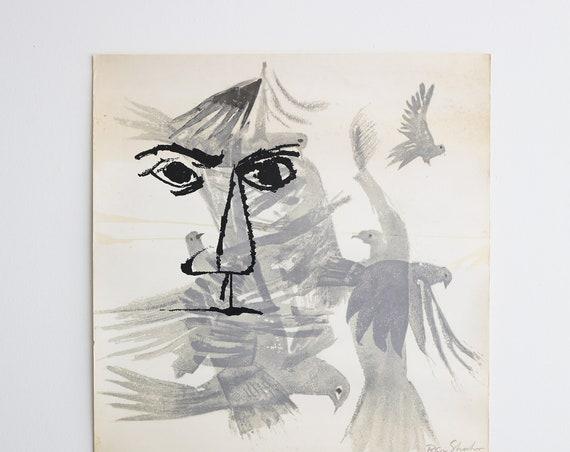 Original Ben Shahn Atelier Mourlot Signed Lithograph