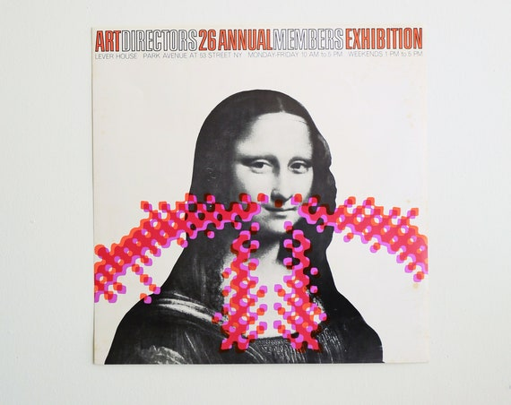 Original Art Directors 26 Annual Members Exhibition Poster / Hardstock