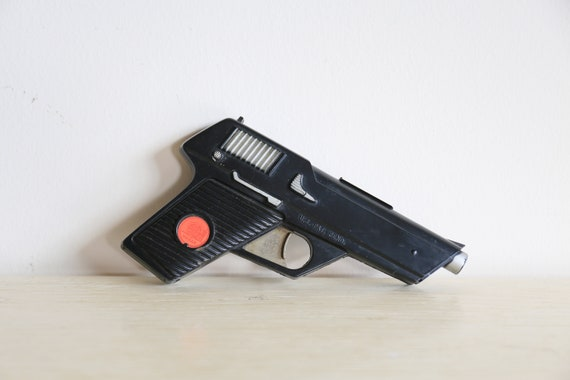 Man From Uncle - Secret Service Toy Cap Gun with Holster 1965 Ideal Toy Corp- Reserve