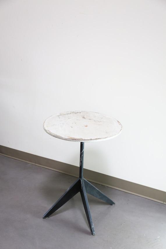 Sold ** Primitive Modernist Round Table