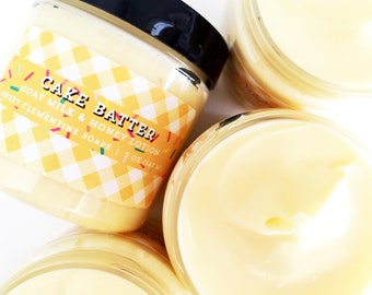 Cake Batter Lotion Goat Milk Body Hand And Cream Butter