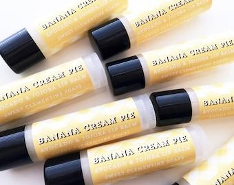 Banana Cream Pie Lip Balm, Lip Sheen, Lip Gloss
