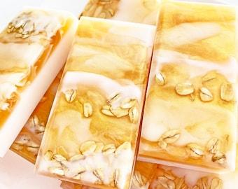 Oatmeal Milk Honey Soap Bar
