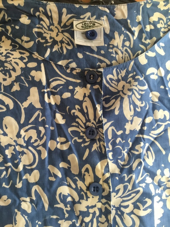Vintage Laura Ashley Romper Cotton Jumpsuit Sleep