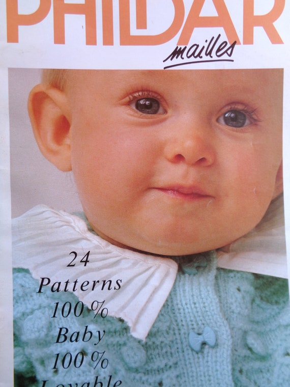 Knitting Patterns Baby Patterns Phildar Mailles No 201 Baby