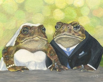 """Meant to Be Together 7x5"""" matted to 10x8"""""""