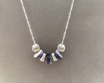 Wampum Beaded Necklace