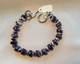 Wampum Beaded Bracelet