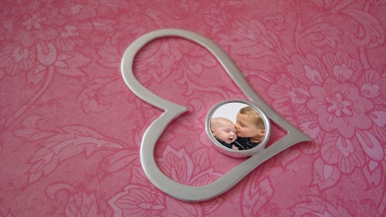 Photo Pendant Jewelry Heart image 0