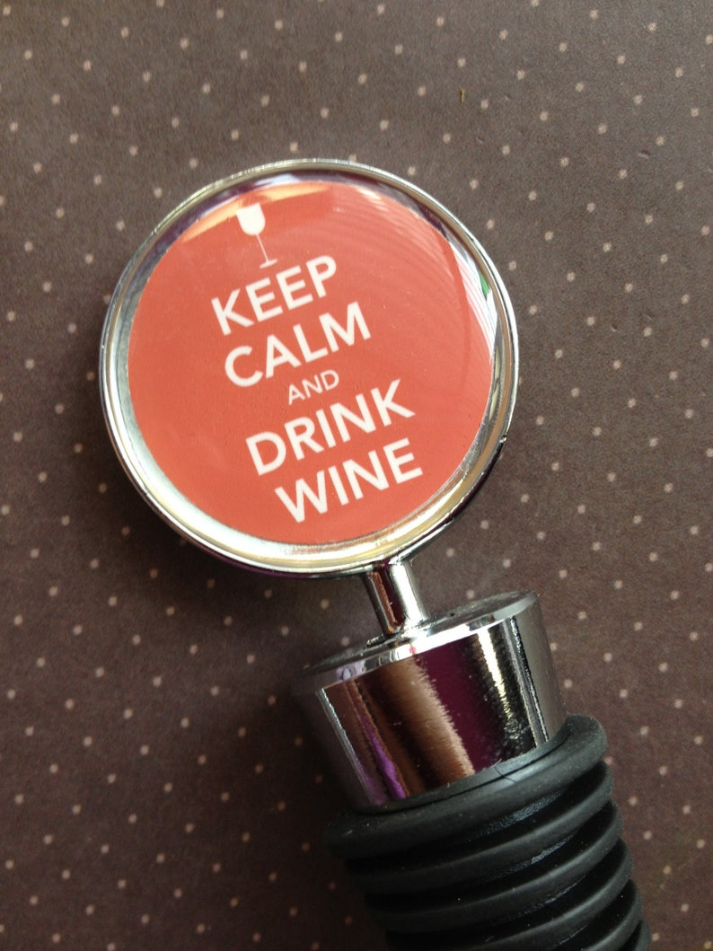 Wine Bottle Topper  Personalized Gift image 0