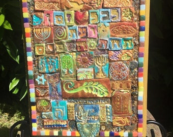 Handmade To Everything there is a Season Clay Mosaic