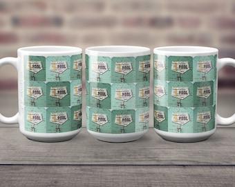 Alberta Wheat Pool Coffee Mug 15 oz Big Beverage White Ceramic Mug