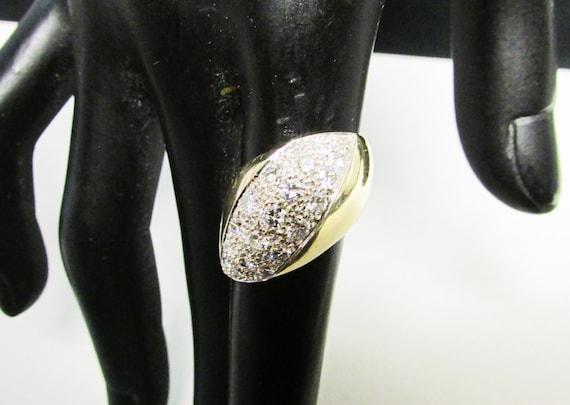 Womens Vintage Estate Sterling Silver Modernist Earrings 5.7g E4344