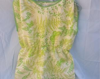 Girl's Dress - Pillowcase Dress - Upcycled Fashion - Upcycled Vintage Linens - Retro Prints - Floral Print - Handmade Fashion