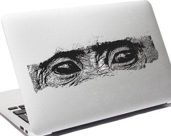 Chimp Eyes Laptop Sticker Decal  5526-Sticker