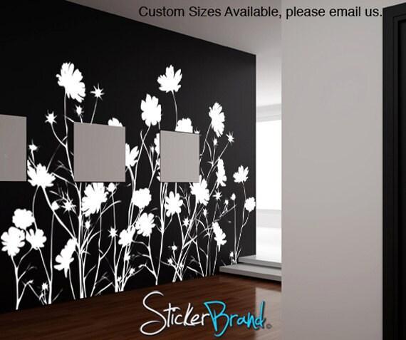 Vinyl Wall Decal Sticker Wild Flower AC148s