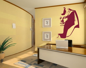 Vinyl Wall Decal Sticker Egyptian Pharaoh OSAA536s