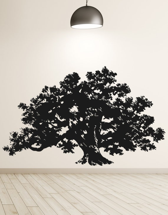 Large Oak Tree Wall Decal Sticker by Stickerbrand #410