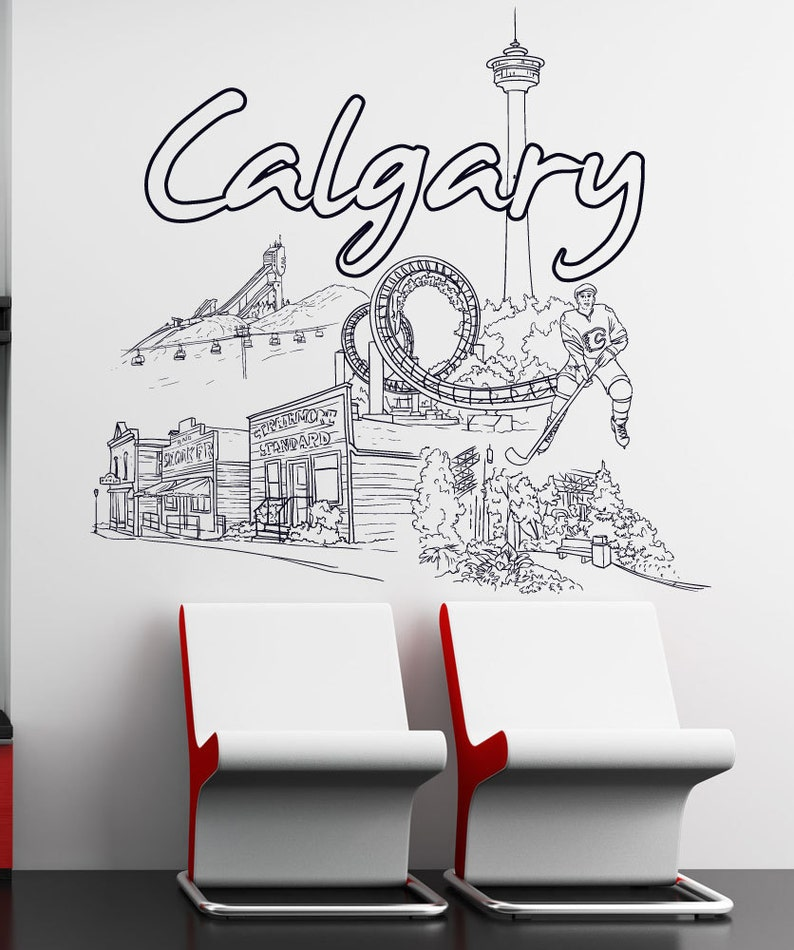 Vinyl Wall Decal Sticker Calgary 1420s