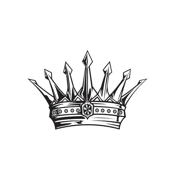 Vinyl Wall Decal King/'s Crown
