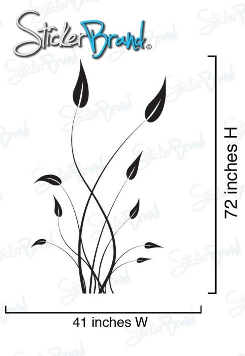 Vinyl Wall Decal Sticker Tall Grass 729