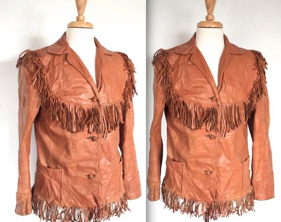 RARE Vintage 1940's Vintage Jacket // 40s 50s Frin