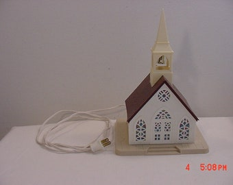 Vintage Regency Industries Inc. Lighted Indoor Christmas Church Decoration  18 - 1189
