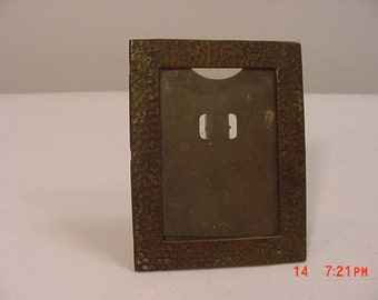 Vintage Metal Standing Picture Frame  17 - 338