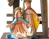 Vintage Mid-Century Modern Nativity Made in Italy