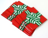 Vintage Bob Van Allen Christmas Napkins NOS Set of Eight