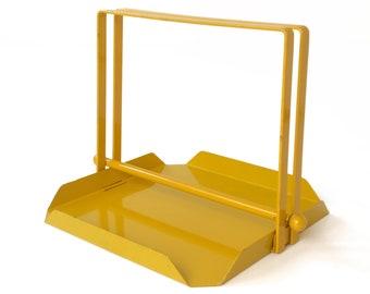 Mid-Century Modern Yellow Napkin Holder
