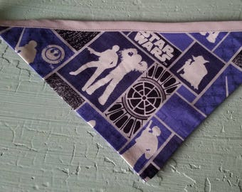 READY TO SHIP- Star Wars Medium Dog Bandana Chewbacca Han Solo