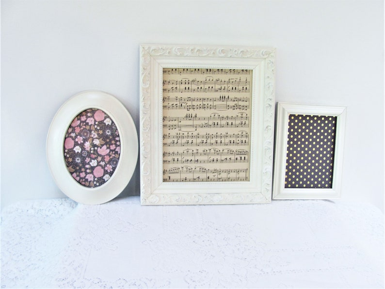 Photo Picture Frames Ornate Shabby Chic Vintage Wedding White Grey 6x4 5x7 8x10 Home Decor Frames