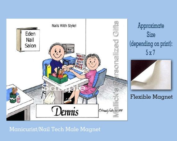 Personalized 8 X 10 Manicurist Nail Tech Personalized Etsy