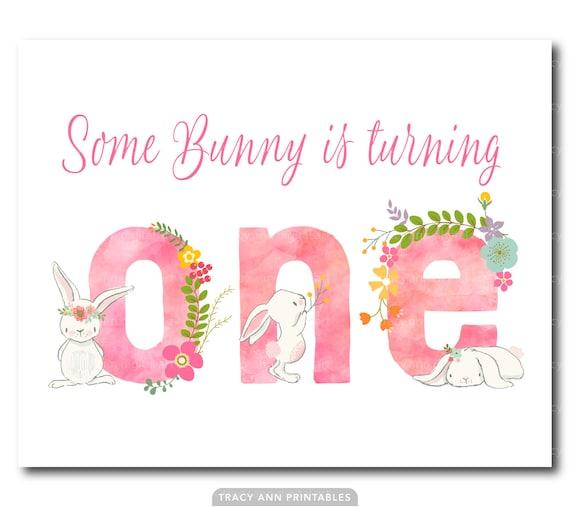 Hase Geburtstag Zeichen Einige Bunny Dreht Man Madchen 1 Etsy