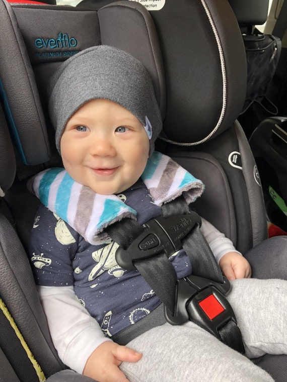 MINKY Car Seat Strap Covers YOU Choose Colors Minky